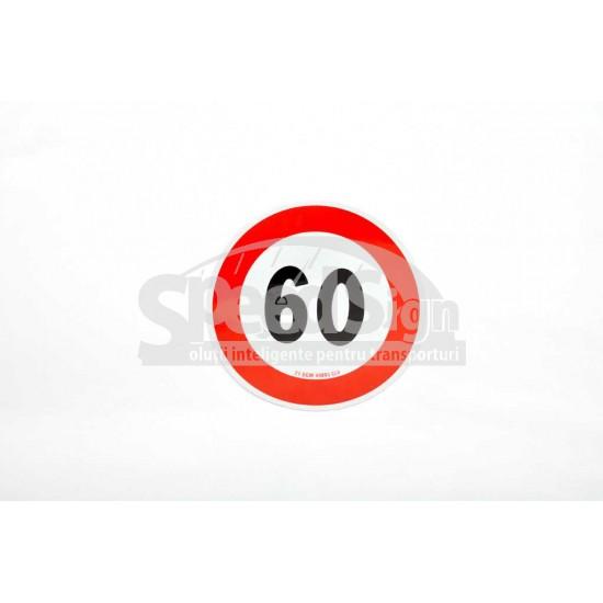 Indicator auto reflectorizant limitare viteza