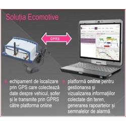 ECOMOTIVE - SISTEM DE URMARIRE SI MASURARE A COMBUSTIBILULUI PRIN GPS