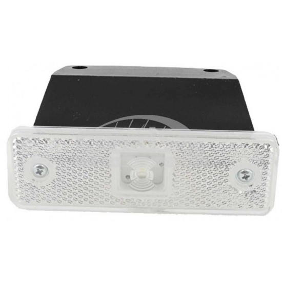 Lampa marcaj alb 31*98/49 cu suport; 12-24V LD 499