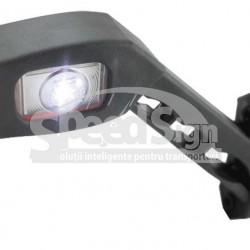 LAMPA  LED gabarit 3 CULORI STANGA 45*65 12/24V   LD 518L