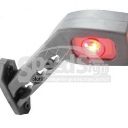 LAMPA  LED gabarit 3 CULORI DREAPTA 45*65 12/24V   LD 518P