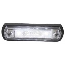 Lampa pozitie ovala alba  12/24 V  FLD675