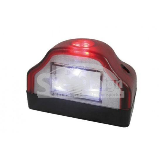 Lampa LED placa inmatriculare cu lumina pozitie; 12-24V LTD 232