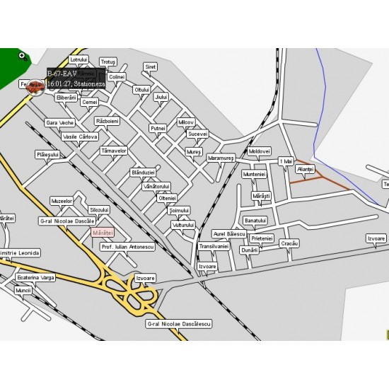 Sistem de urmărire si măsurare combustibil prin GPS - iTRACK
